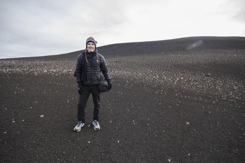 'Inferno Cone' - Cinder Cone Volcano