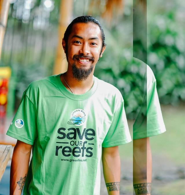 A Green Fins t-shirt.  (Photo via the Green Fins website)