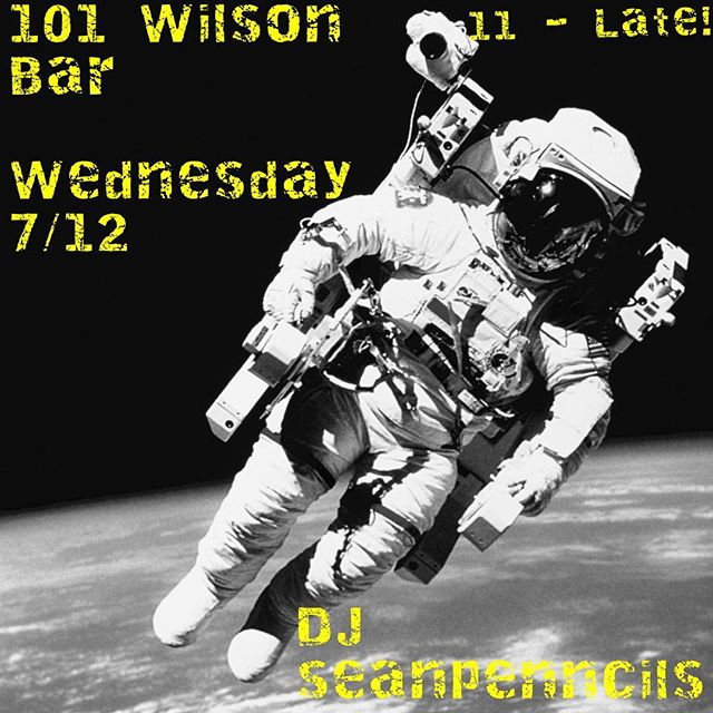 Come to @101wilsonbar tonight and party with me. You can also watch me eat 12,379 hotdogs