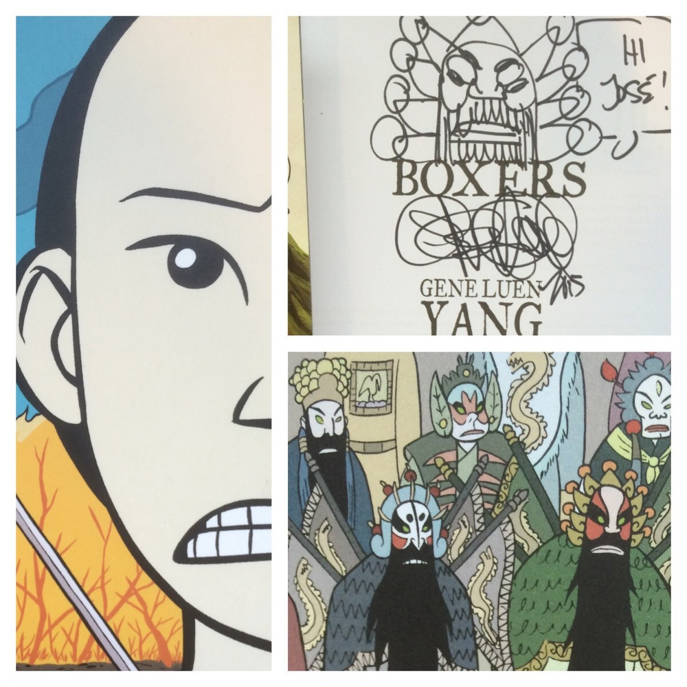 Got to meet Gene Luen Yang!