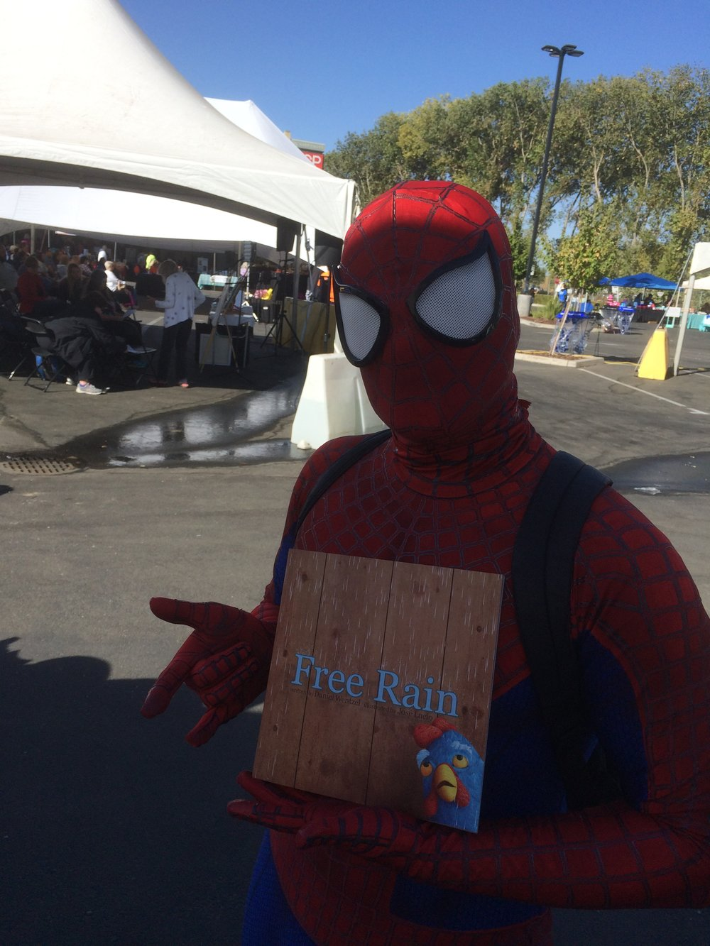 Spiderman's a big fan.