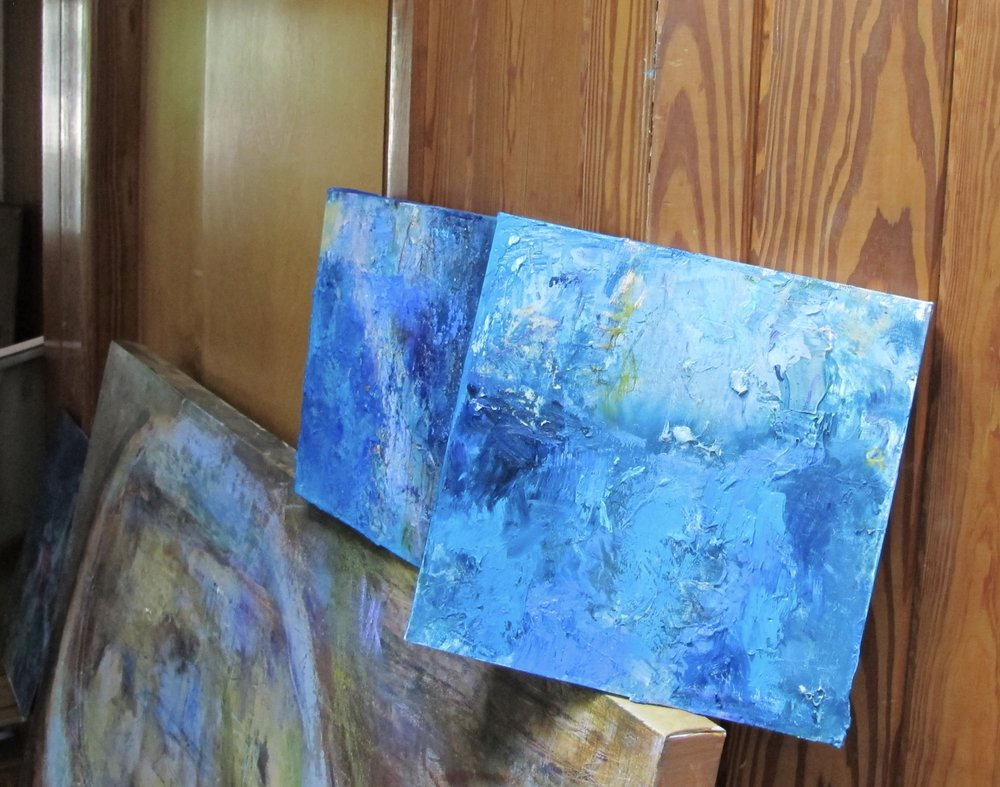 Visiting Margaret Tolbert's studio in Gainesville