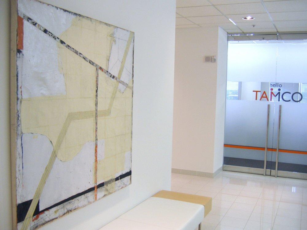 Mernet Larsen piece for TAMCO Lobby