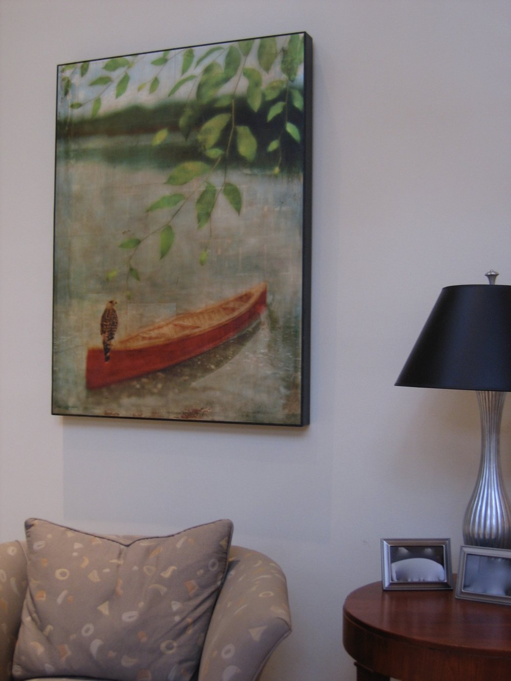 Carolina Cleere's work in client living room