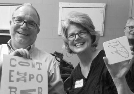 Learning to use a letter press with my wonderful friend Jose Gelats as part of a Museum of Fine Arts, Contemporaries event.