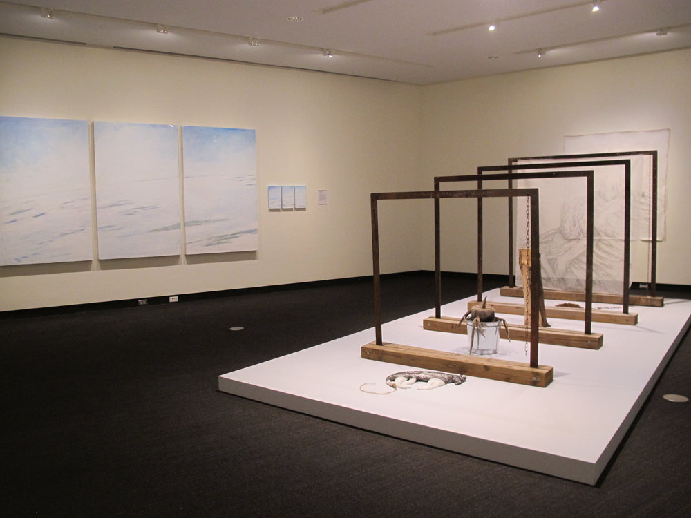 MFA 3 | Christopher Minot (paintings); Babs Reingold