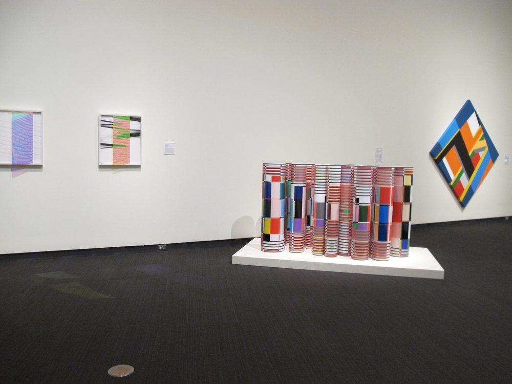 MFA 12 | Bryce Hudson, far right painting