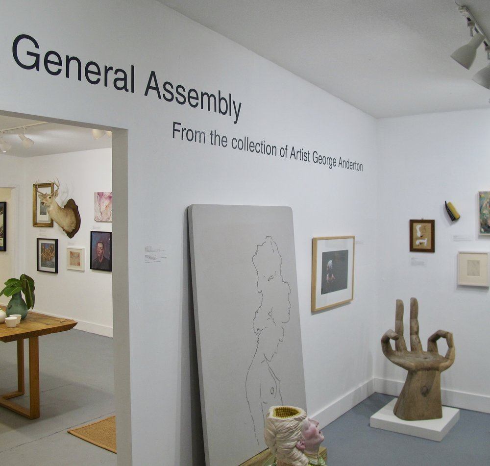 Guest Co-Curator for General Assembly at Quaid Gallery - see Exhibits