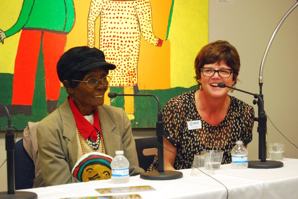 Panel discussion with folk artist Ruby C. Williams