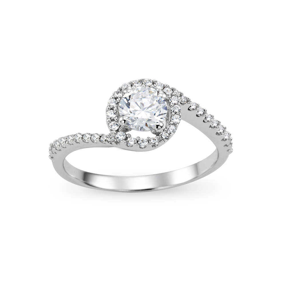 engagement pin diamond wedding twist di gorgeous swirl anello bellissimo rings fidanzamento ring