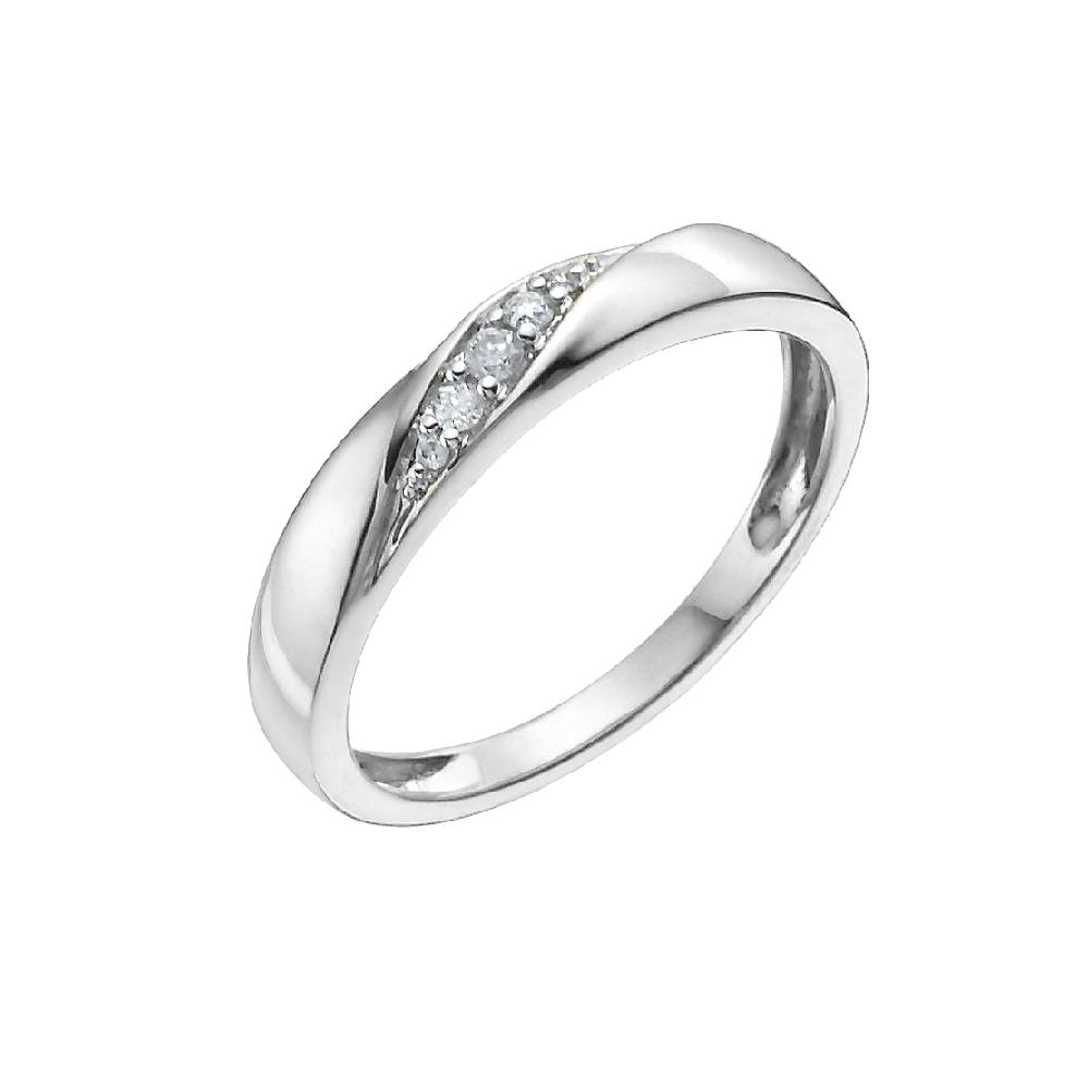 wedding infinity twist wedding band Ladies diamond wedding band in gentle twist channel setting