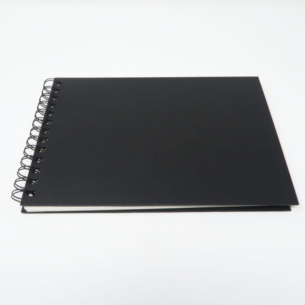 InstantCameraRental Guest Book 10%22 x 7%22 - Front Angled.JPG
