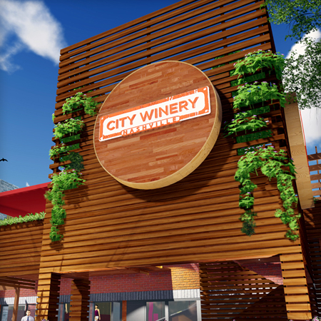 CITY WINERY - NASHVILLE RENDERINGS