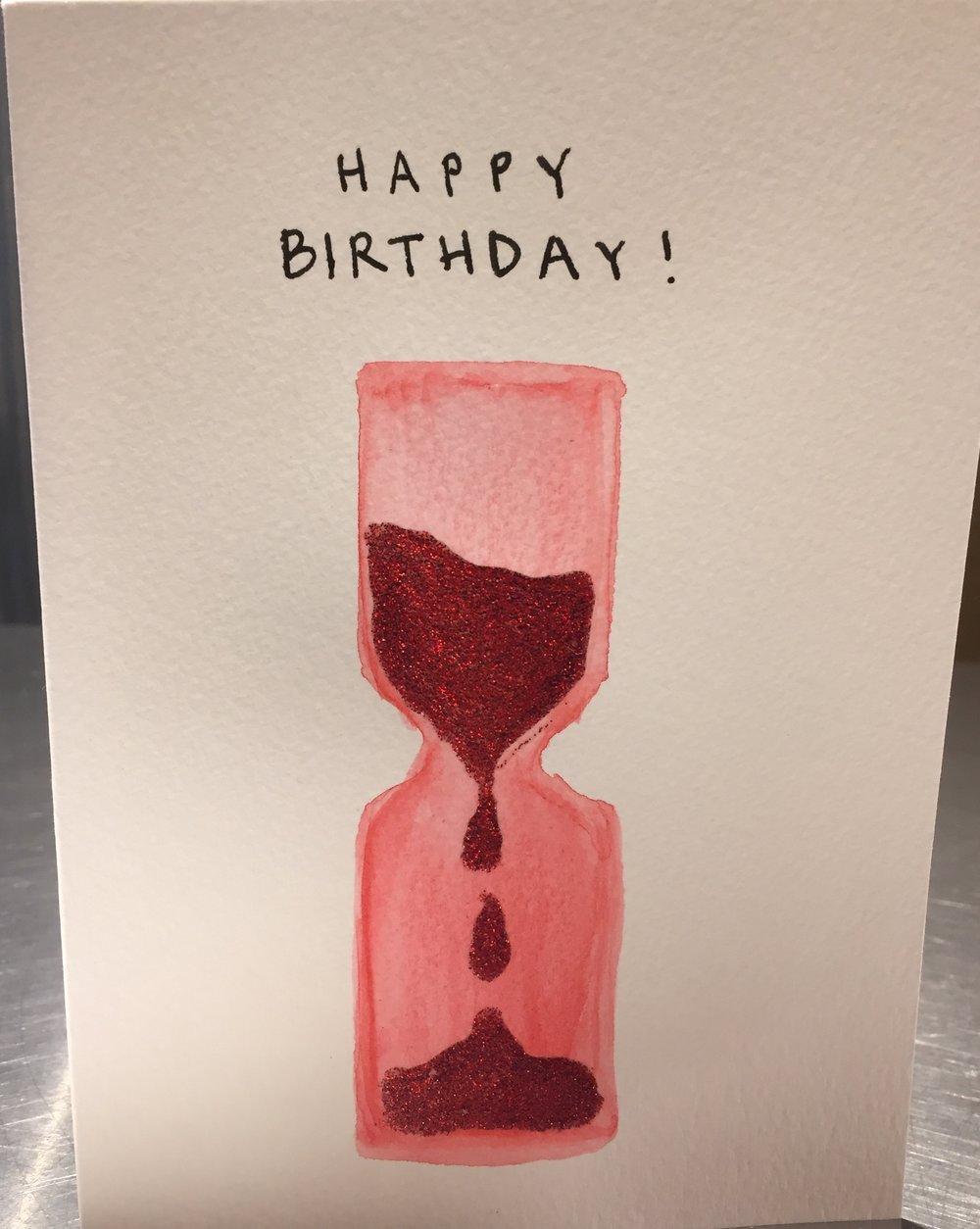 Happy Birthday Glitter Timer.JPG