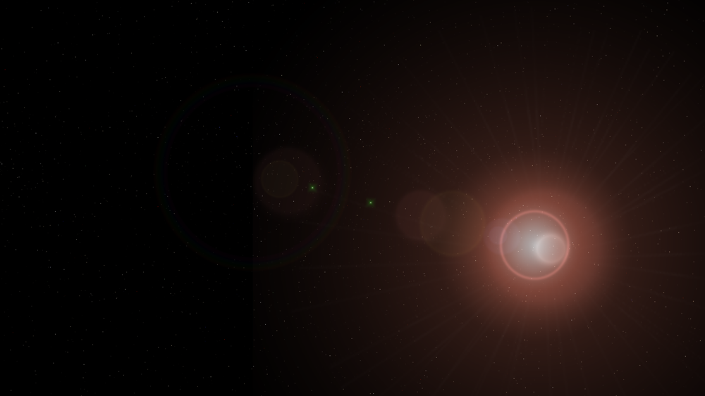 Glimpse of a G-Type Main sequence star