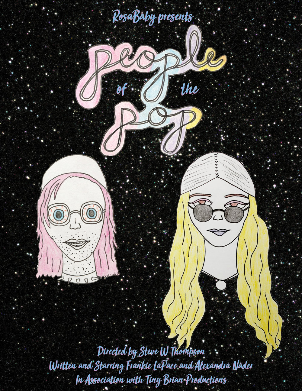 People of the Pop has been featured on Funny or Die! - Rosababy's newest sketch, People of the Pop, has been featured on Funny or Die. Click here to watch it and vote,