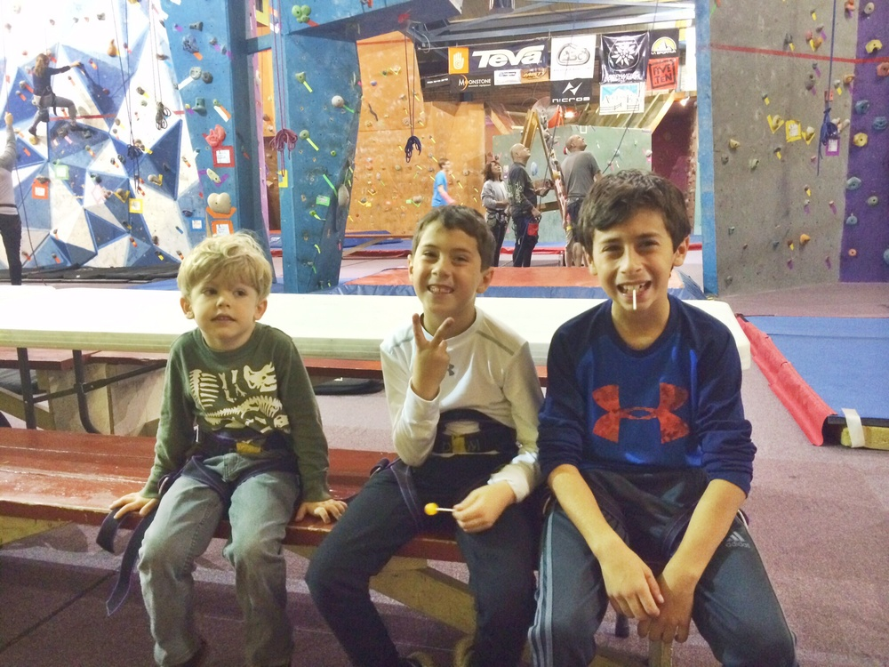 rock climbing cousins