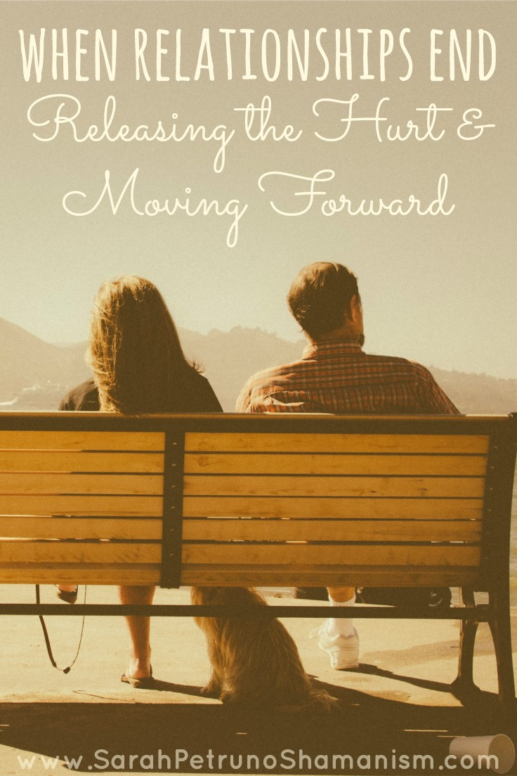 Healing from painful relationship endings -a step by step method of releasing the pain and moving forward.