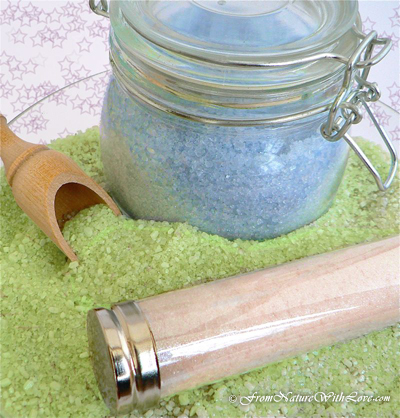 9 Ways to Invite Fairies into your Life. Try making these Fairy Dust Bath Salts from the Natural Beauty Workshop