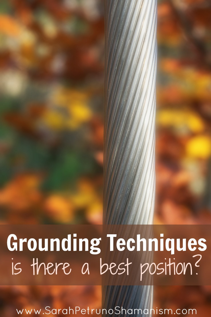 Grounding Techniques - is meditating while laying down really as bad as they say it is? From sitting, to standing, to laying down, what's the best position for grounding?  Find out at www.SarahPetrunoShamanism.com