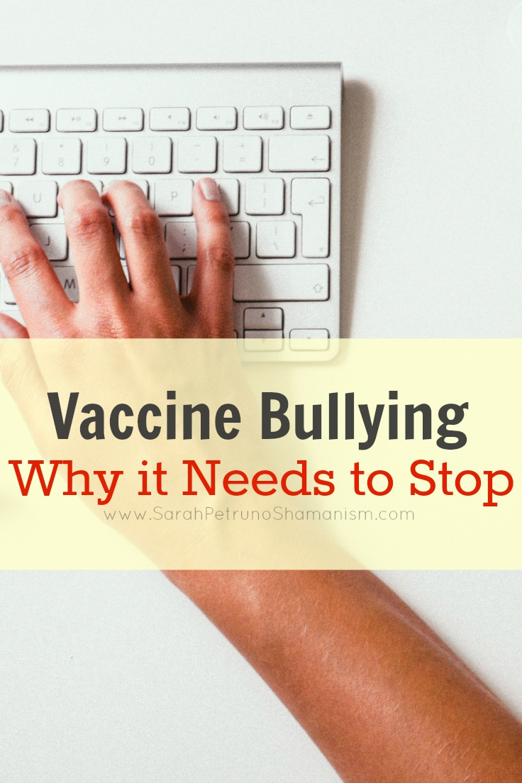 Vaccine Bullying: Why it Needs to Stop
