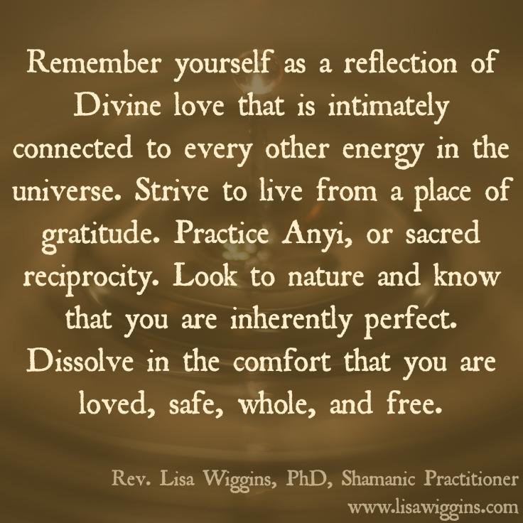 Rev. Lisa Wiggins, PhD,Shamanic Practitioner,Roswell, GA USA