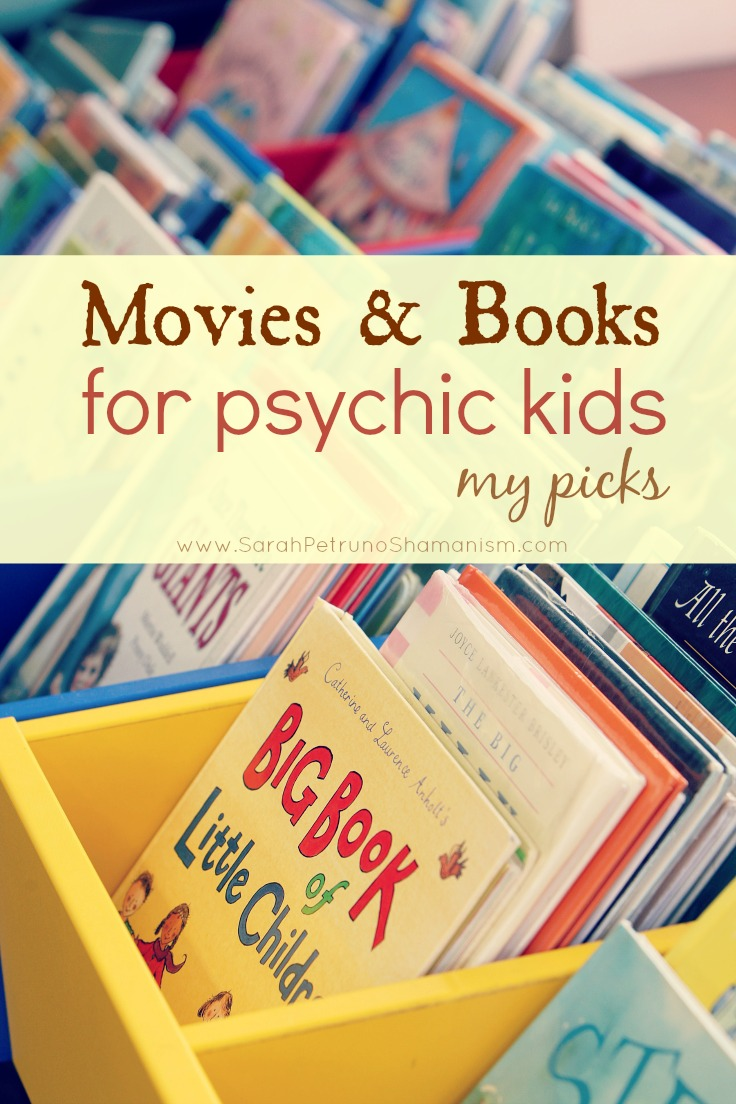 My top 4 movies and books for psychic kids. Find out what my own daughter watches and reads to help her in understanding of the Spirit world.