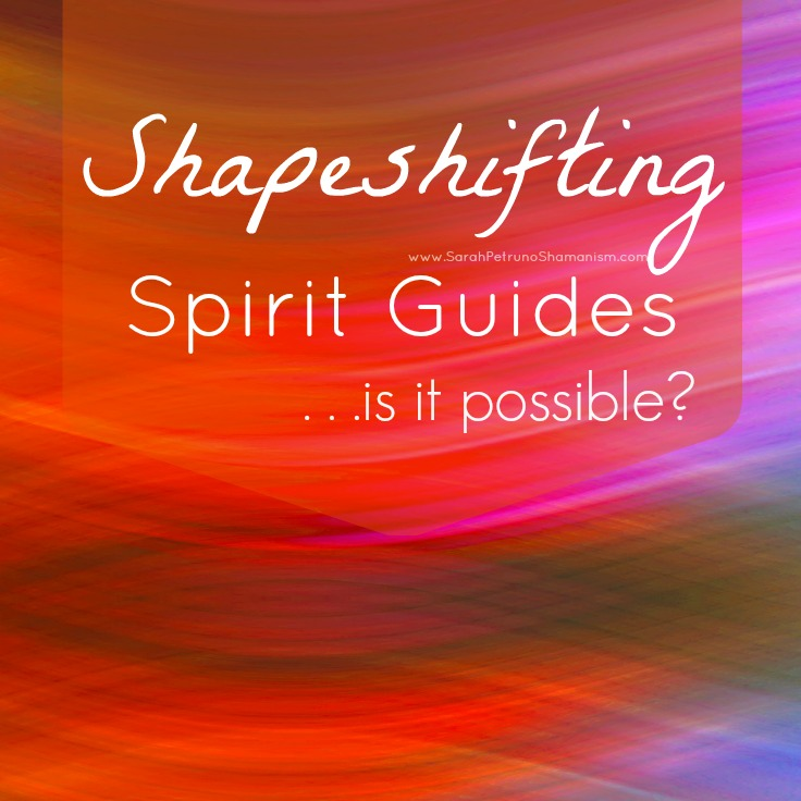 Have a Spirit Guide mystery on your hands? Can guides shift from one appearance to another with ease? Get to the bottom of it in this post.