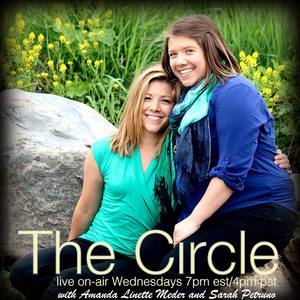 Amanda Linette Meder and Sarah Petruno, your hosts of The Circle.