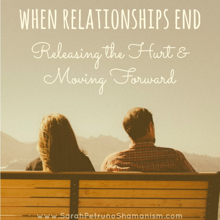 Healing from painful relationship endings - a step by step method of releasing the pain and moving forward.