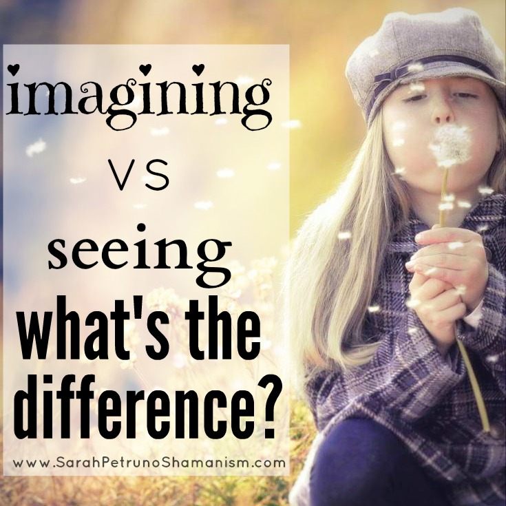 Is there a difference between imagining and seeing clairvoyantly? If so, what is it?