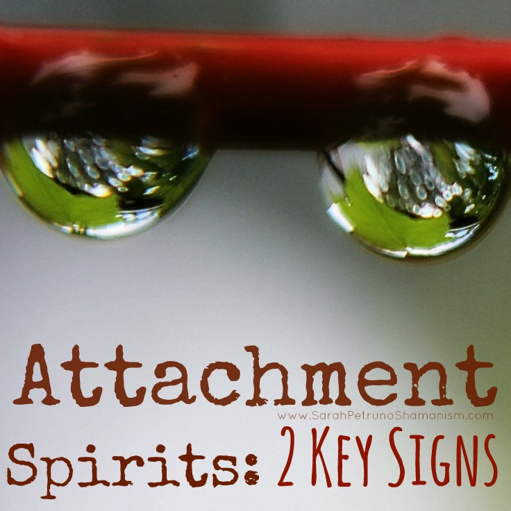 A new way of thinking about Attachment Spirits, as freeloading roommates. How can you tell if someone is stealing your juice?