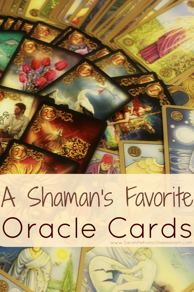 Sarah Petruno Shamana's favorite oracle card decks and apps