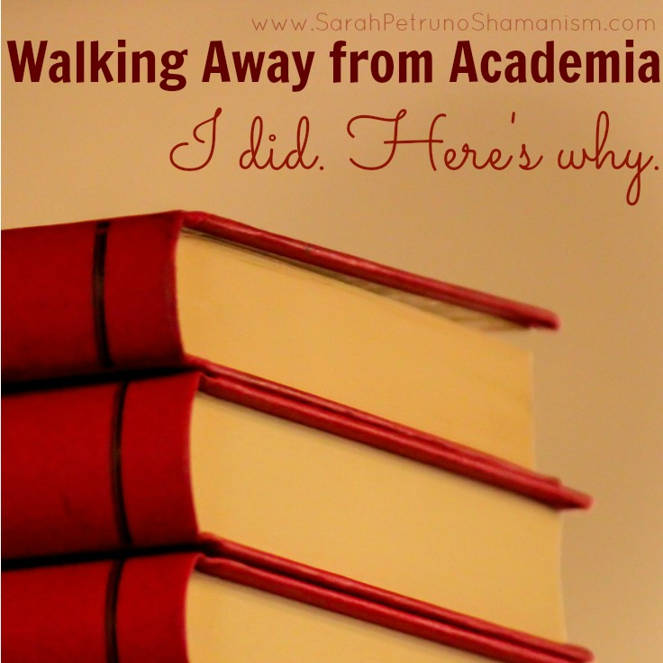 Leaving academia waswalking away from an illusion and jumping off a train before it crashed. People do walk away and live to talk about it - here's my story.
