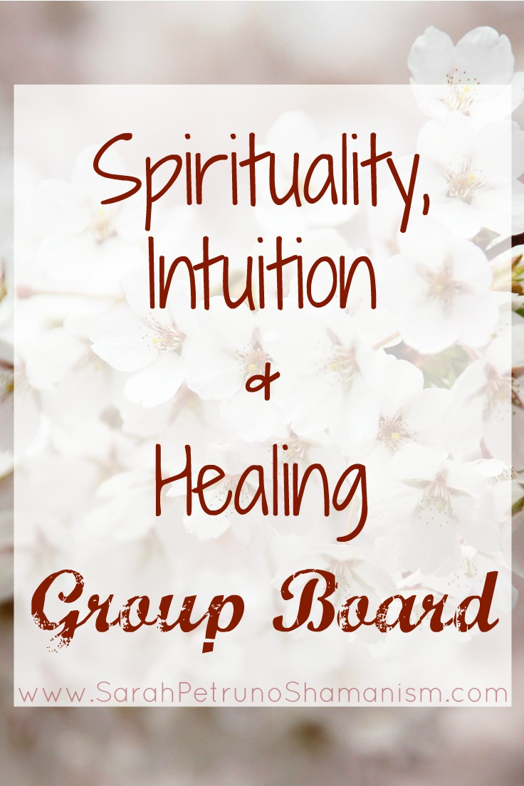 Are you a shaman, medium, tarot reader, spiritual herbalist, energy healer, or anyone in between with a blog or a Pinterest presence?Jointhe Spirituality, Intuition& Healing Group Boardon Pinterest and start pinning!