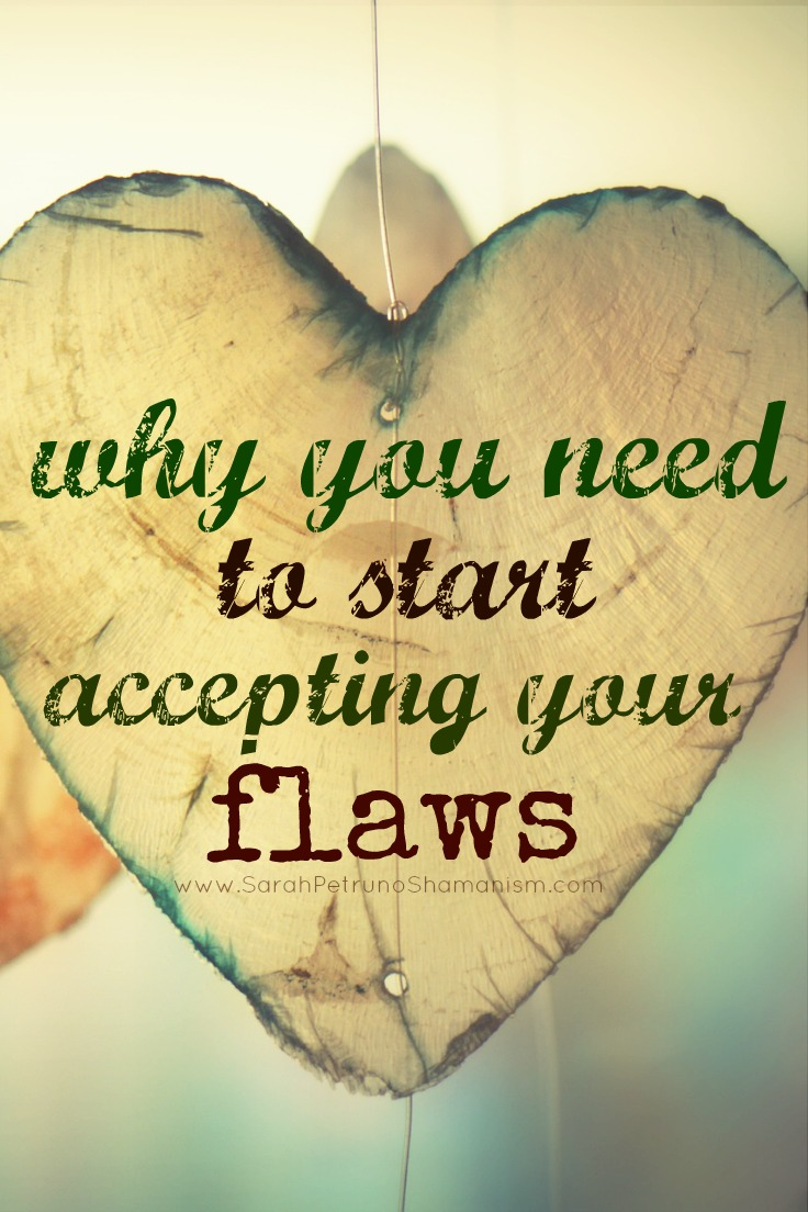 Loving yourself completely means loving all parts of yourself - flawed and flawless. Learn how to start accepting and welcoming those parts of you once avoided and considered less than perfect. Become balanced.