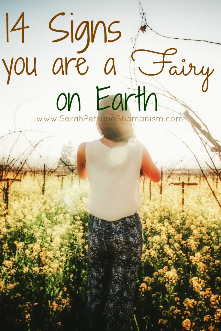 How can you tell if you're a Fairy on Earth? Get the 14 top signs <3