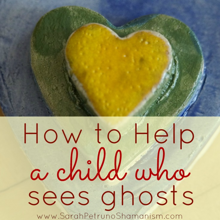 7 tools of the trade that you can learn and use to help a child who sees ghosts, especially at bedtime.