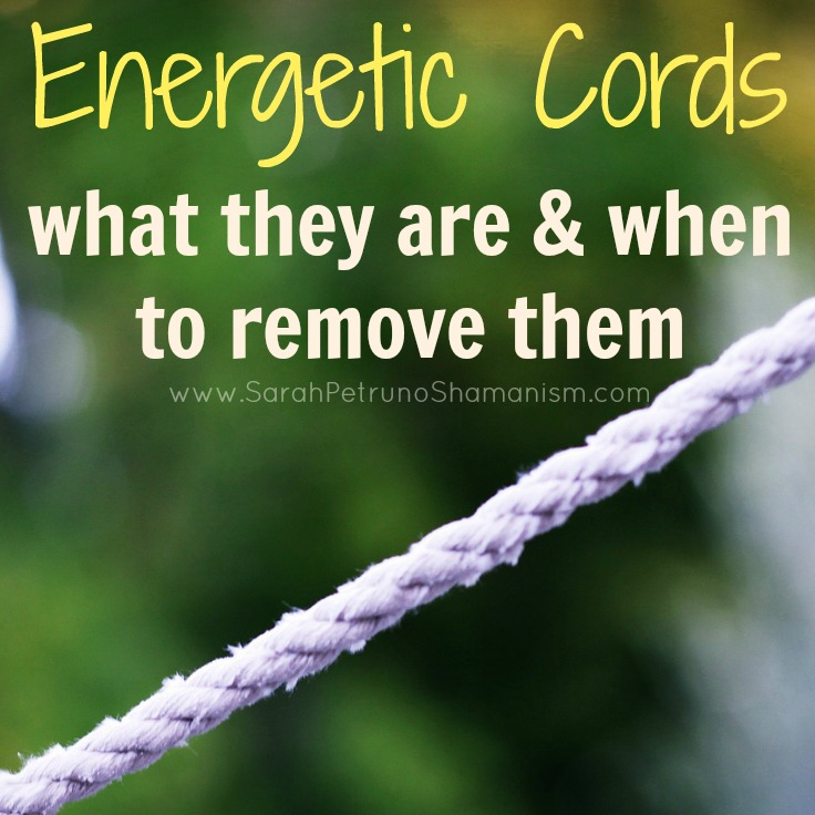 An energetic connection, link, or bridge that binds you and another person, an energetic cord is a real thing that you can impact your well being. Find out what they are and when they need to be removed.
