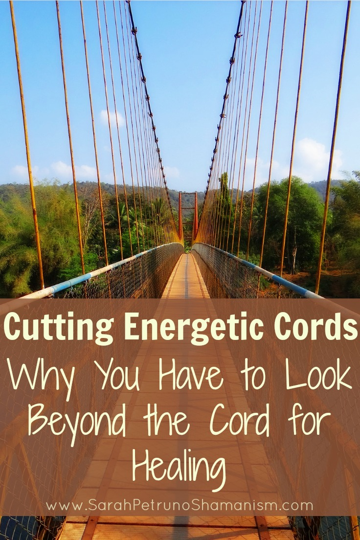 There's more to cord cutting than just snipping the link, you have to go deeper and heal the damage too. This is the reason why so many cords come back - incomplete removal.