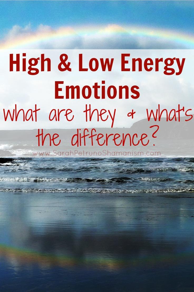 High and Low Energy Emotion - positive, negative, what's the difference?