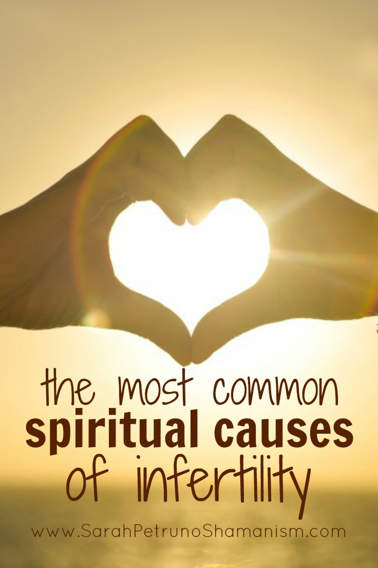 Healing infertility spiritually means knowing what caused it, spiritually, in the first place. The most common spiritual causes of infertility can be found here.