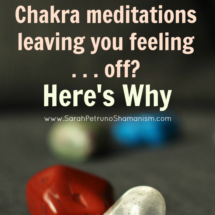 Feeling sick, woozy, or out of it after doing a chakra meditation? No, you didn't do it wrong. Here's what's going on.