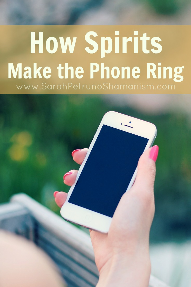 Ghostly phone calls? Calls from unknown or blocked numbers that immediately hang up? Spirits can make the phone ring - find out why and how they do it.