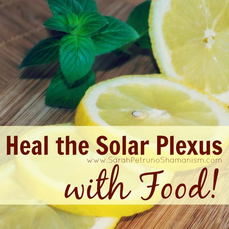 Easy peasy solar plexus (gut chakra) healing with food - learn how it works and get tips on how to start!