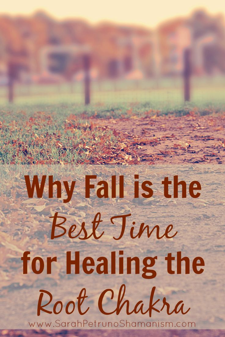 Chakras with the Seasons: Why Fall is the Best Time for Healing the Root Chakra