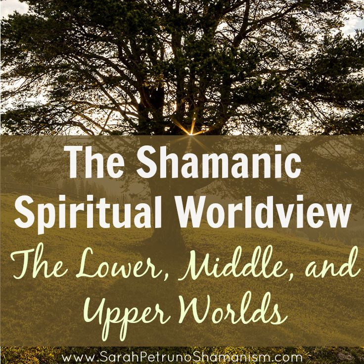 The 3 spiritual worlds within the context of the shamanic worldview.  Get it broken down for you - from top to bottom.