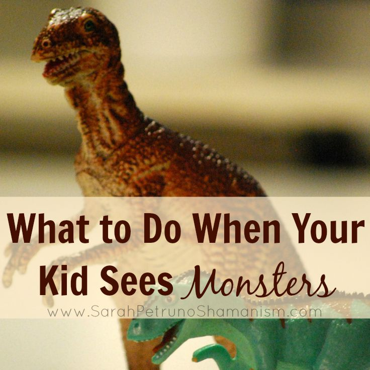 My daughter has a fear of monsters. She sees them. If you have a kid, it's likely they've seen monsters to. But how can you respond to it in a positive and validating way? Find out how we do it in our family!