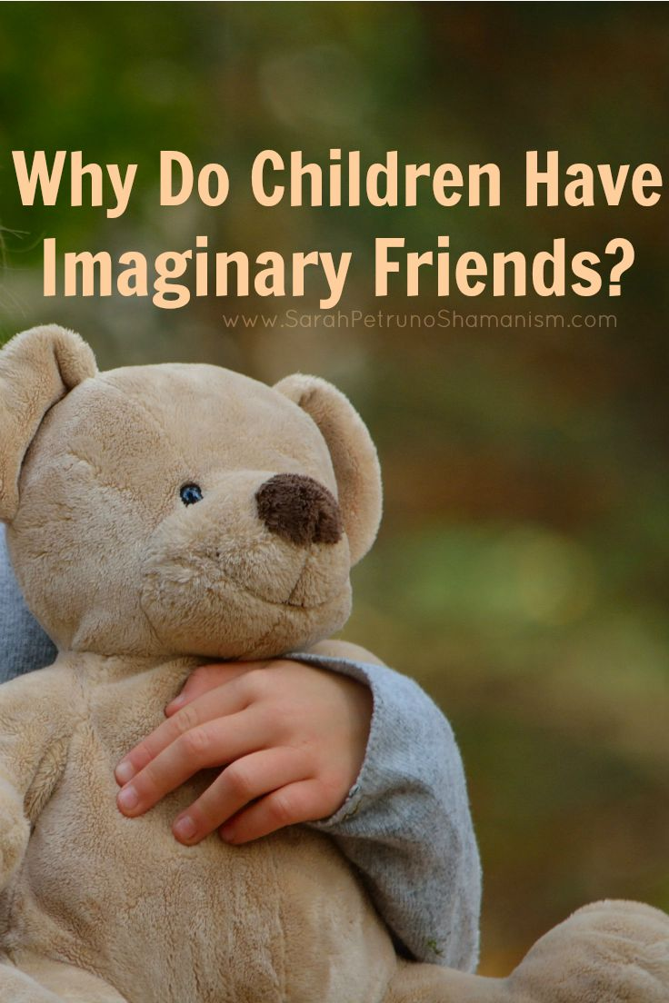 Consider for just a minute that those imaginary friends are real - and you just can't see them.