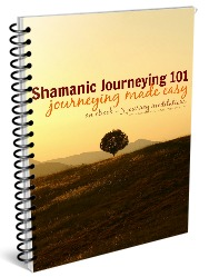 Shamanic Journeying 101 - a crash course in shamanic journeying, including a concise, jam packed eBook explaining core concepts and introducing you to the basics of shamanic journeying, and 3 guided shamanic journeys to jump start your journeying practice.